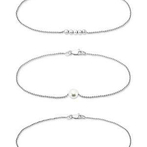 Giani Bernini Pearl, Bead, & Bar Bracelets - NWT